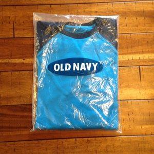 Old Navy Waffle-knit Long Sleeve Youth Large 10-12